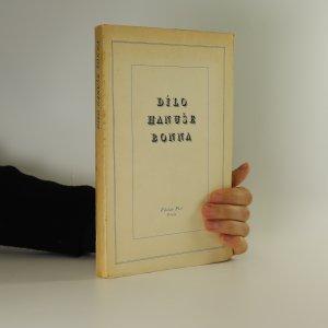 náhled knihy - Dílo Hanuše Bonna