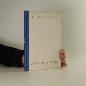 náhled knihy - Zpíváno z dálky