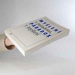 antikvární kniha Myšlení v paradoxu, paradox v myšlení, 1998