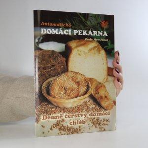 náhled knihy - Automatická domácí pekárna