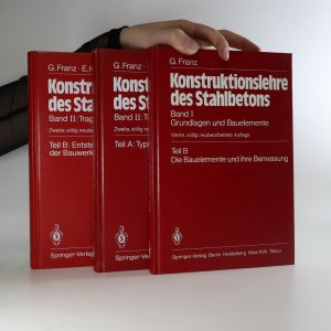 náhled knihy - Konstruktionslehre des Stahlbetons (3 svazky, nekompletní, viz foto)
