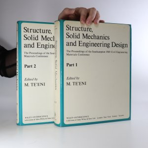 náhled knihy - Structure, Solid Mechanics and Engineering Design (2 svazky)