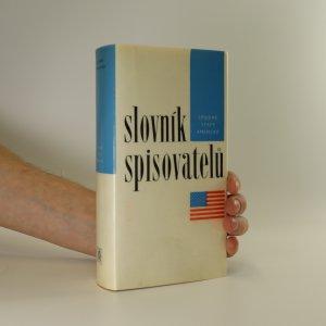 náhled knihy - Slovník spisovatelů. Spojené státy americké