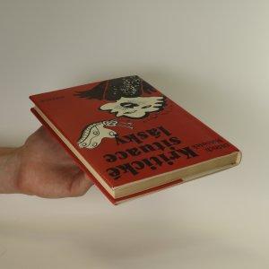 antikvární kniha Kritické situace lásky, 1987
