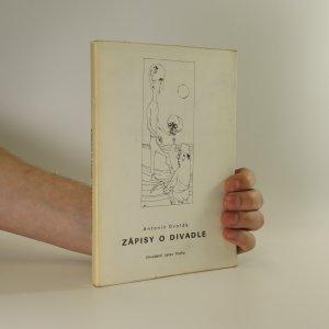 náhled knihy - Zápisy o divadle