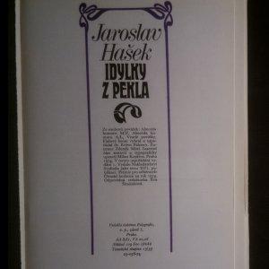 antikvární kniha Idylky z pekla, 1974
