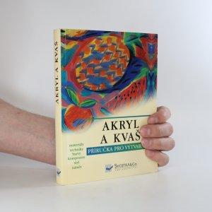 náhled knihy - Akryl a kvaš