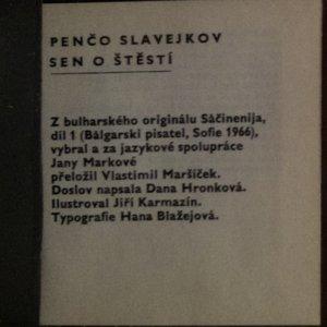 antikvární kniha Sen o štěstí, neuveden