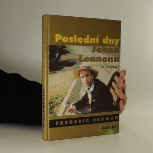 náhled knihy - Poslední dny Johna Lennona