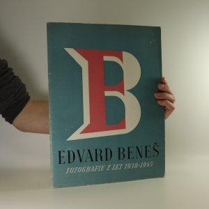 náhled knihy - President Dr. Edvard Beneš. 1938-1945