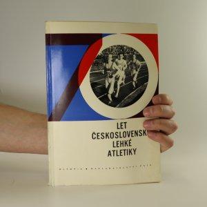 náhled knihy - 70 let československé lehké atletiky