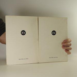 antikvární kniha Tři mušketýři I. a II. díl (2 svazky), 1947