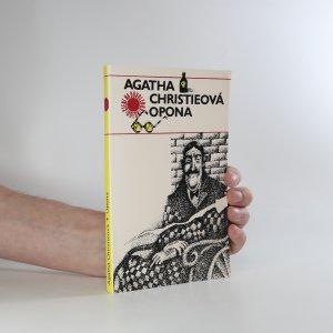 náhled knihy - Opona