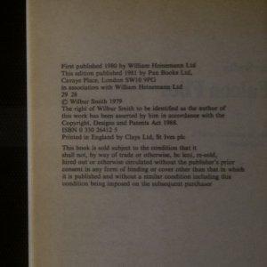 antikvární kniha A Falcon Flies, 1981