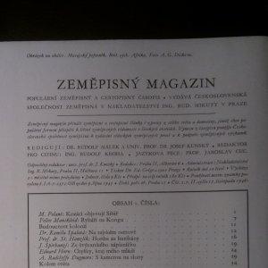 antikvární kniha Zeměpisný magazín. Ročník II. Čísla 1.-20. (v 16 sešitech), 1946, 1947