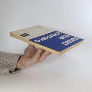 antikvární kniha Rukověť dějin literatury pro 3. ročník středních škol, 1972
