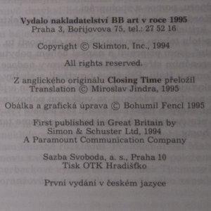 antikvární kniha Zavíráme!, 1995
