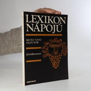 náhled knihy - Lexikon nápojů. Mini-vini slovník