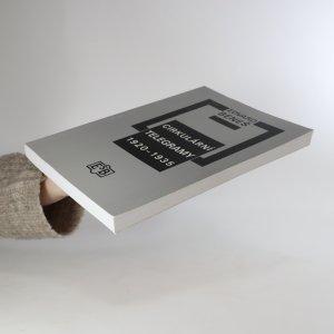 antikvární kniha Cirkulární telegramy 1920-1935, 2002