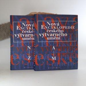 náhled knihy - Nová encyklopedie českého výtvarného umění A-Ž (2 svazky, komplet)
