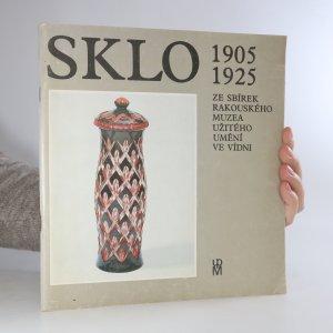 náhled knihy - Sklo 1905-1925