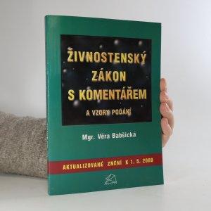 náhled knihy - Živnostenský zákon s komentářem a vzory podání