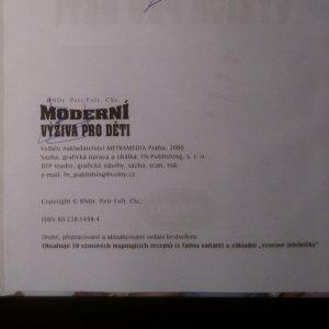 antikvární kniha Moderní výživa pro děti, 2000