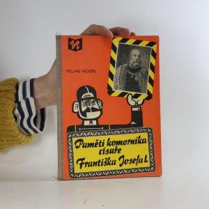 náhled knihy - Paměti komorníka císaře Františka Josefa I.