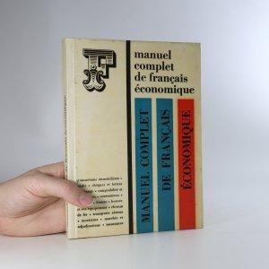 náhled knihy - Manuel complet de français économique