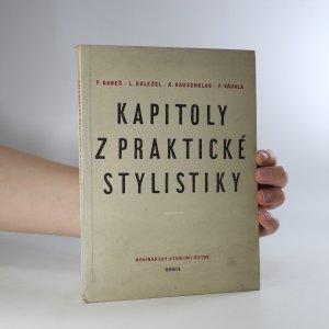 náhled knihy - Kapitoly z praktické stylistiky