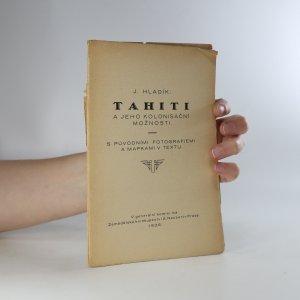 náhled knihy - Tahiti a jeho kolonisační možnosti