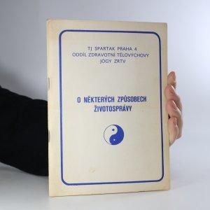 náhled knihy - O některých způsobech životosprávy