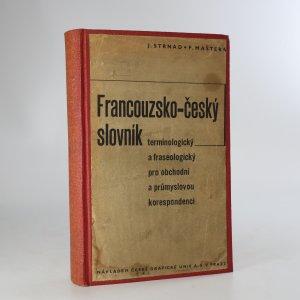 náhled knihy - Francouzsko-český slovník (chybí tiráž)