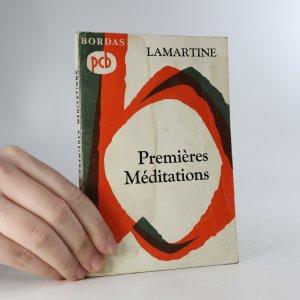 náhled knihy - Premières méditations poétiques