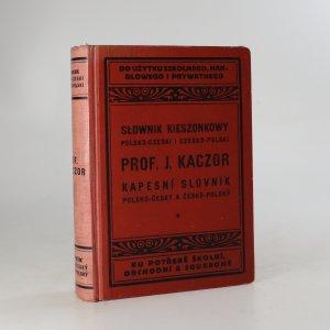 náhled knihy - Nový kapesní slovník polsko-český a česko-polský