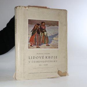 náhled knihy - Lidové kroje v Československu Díl I. Čechy