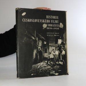 náhled knihy - Historie československého filmu v obrazech 1898-1930