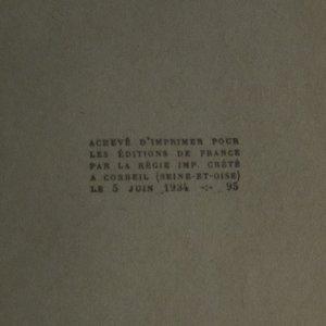 antikvární kniha Francois I, 1934