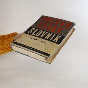 antikvární kniha Polsko-český slovník, 1951