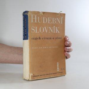 náhled knihy - Hudební slovník cizích výrazů a rčení (stav viz foto)