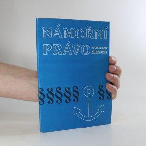 náhled knihy - Námořní právo