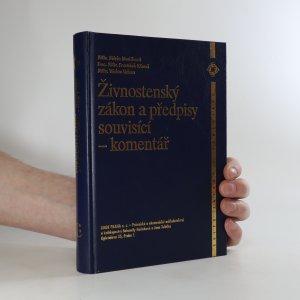 náhled knihy - Živnostenský zákon a předpisy souvisící. Komentář