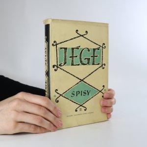 náhled knihy - Jégé. Spisy II.