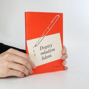 náhled knihy - Dopisy mladým lidem