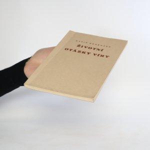 antikvární kniha Životní otázky víry. Věroučný kurs, 1946