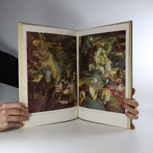 antikvární kniha Tintoretto. Souborné malířské dílo, 1980