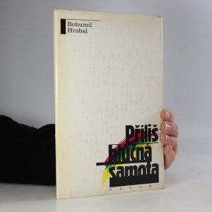 náhled knihy - Příliš hlučná samota (kniha je cítit kouřem)