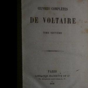 antikvární kniha Oeuvres Complétes De Voltaire, 1878
