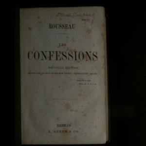 antikvární kniha Confessions (viz foto a stav), neuveden