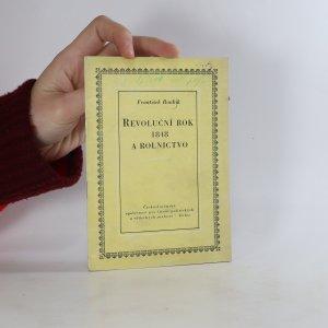 náhled knihy - Revoluční rok 1848 a rolnictvo